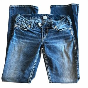 Silver Jeans Tuesday Low Rise